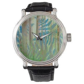 Collage of Bracken Ferns and Forest | Seabeck, WA Watch