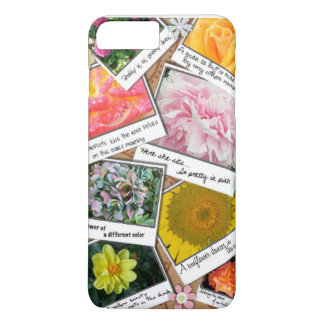 Collage of Flowers iPhone 7 Plus Case