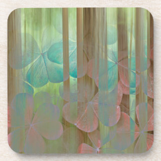 Collage of Oxalis and Trees | Seabeck, WA Coaster
