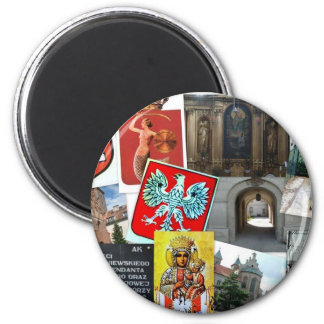 COLLAGE OF POLAND MAGNET