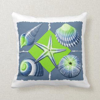 Lemon Green Throw Pillow : Sea Urchins Cushions - Sea Urchins Scatter Cushions Zazzle.com.au