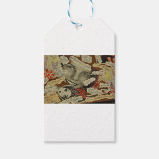 Collage products gift tags
