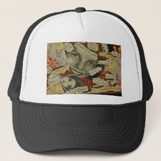 Collage products trucker hat