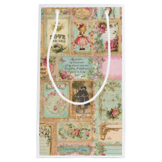 Collage Small Gift Bag