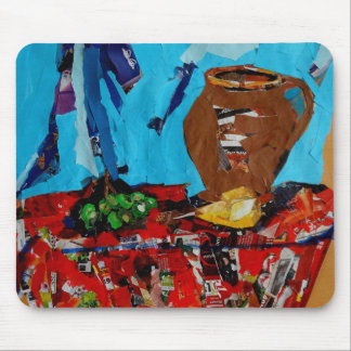 Collage stilllife pop art  Mousepad