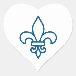 Collant x4 Quebec Heart Sticker