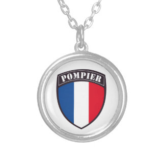Collar Fireman of France Silver Plated Necklace