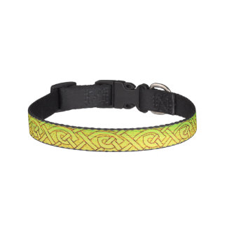 Collar for dogs, Celtic knot, multicolored