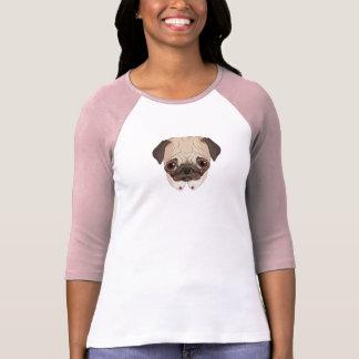 Collar Pug T Shirts