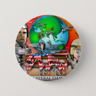 Collateral Damage 6 Cm Round Badge