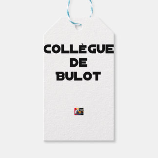COLLEAGUE OF BULOT - Word games - François City Gift Tags
