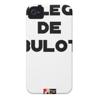 COLLEAGUE OF BULOT - Word games - François City iPhone 4 Case-Mate Cases