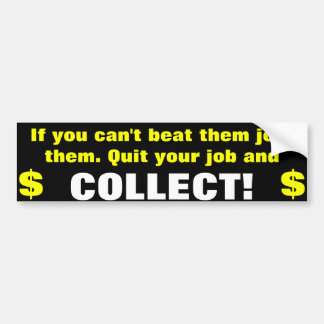 collect bumper stickers