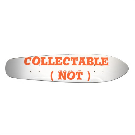 Collectable  ( NOT ) Skate Board Deck