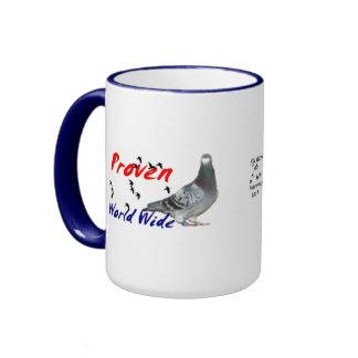 Collectable Series  Janssen Racing Pigeons Ringer Mug