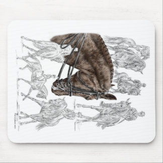 Collected Dressage Horses FEI Mouse Pad