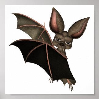 ♥ Collectible Art ♥ Vampire Bat ♥ (bat2) Poster