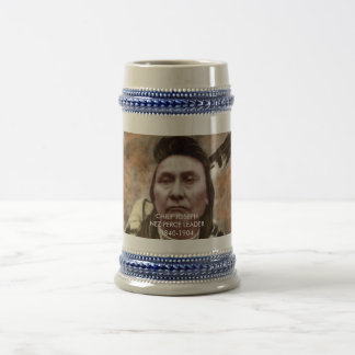 Collectibles - Famous Native American Warriors Beer Stein