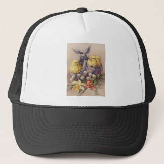 Collecting Easter Chicks Trucker Hat