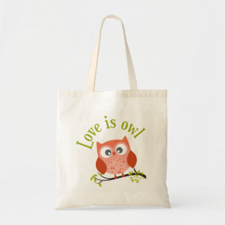 "Collection ""Coils is owl "" Tote Bag"
