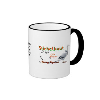 Collection Oct 2011 Stichelbaut racing Pigeons Mugs