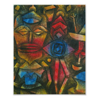 Collection of Figurines : Paul Klee 1926 Poster