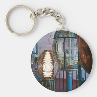 Collection of Lighthouse Lights Basic Round Button Key Ring