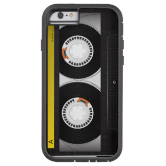 Collection of Retro Audio Cassette Tapes Tough Xtreme iPhone 6 Case