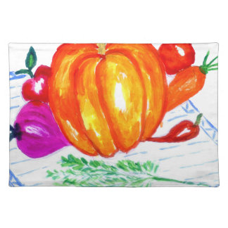Collection of Vegetables Placemat