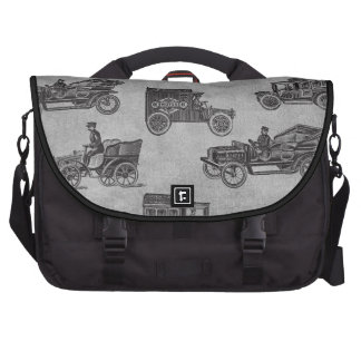 Collection of Vintage Cars Laptop Computer Bag