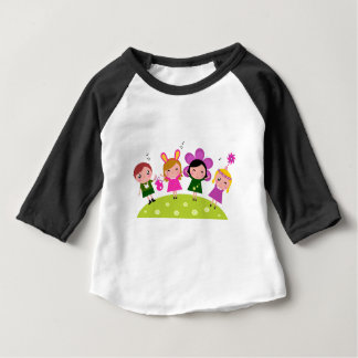 COLLECTION WITH KIDS EASTER BUNNIES BABY T-Shirt