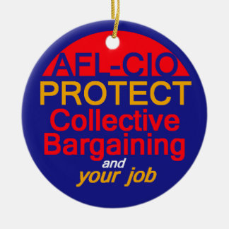 Collective Bargaining Ornament