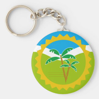 Collective Chaveiro Wild Nature Basic Round Button Key Ring