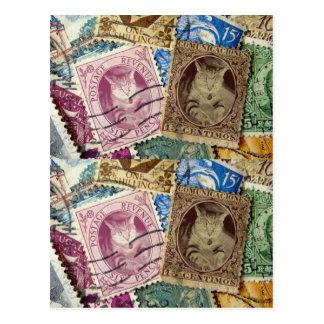 Collector Indigo Stamps Postcard