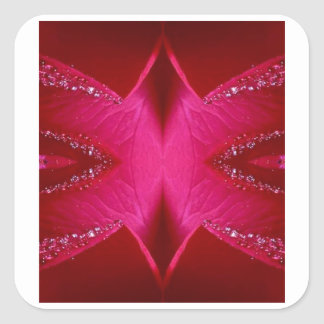 Collectors Edition - Sparkle Red n Pink Rose Sticker