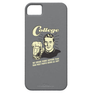 College: Drink More Before 9 AM iPhone 5 Covers