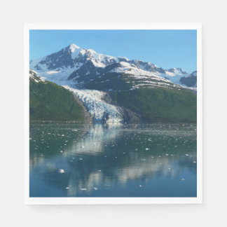 College Fjord II Beautiful Alaska Photography Disposable Serviettes