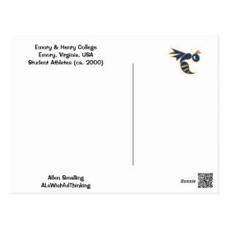 College Football! Postcard