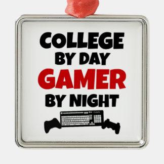 College Gamer Metal Ornament