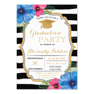 College  Graduation Party Invitation