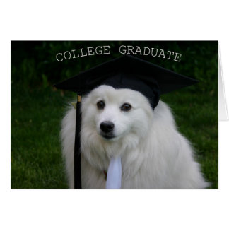 College Gradulate Card