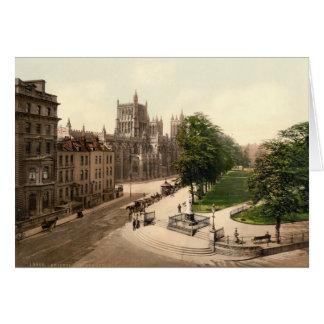 College Green, Bristol, England Card