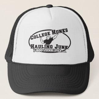 College Hunks Hauling Junk Black and White Trucker Hat