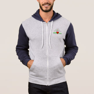 College Lovers Men's Two Coloured Hoodie