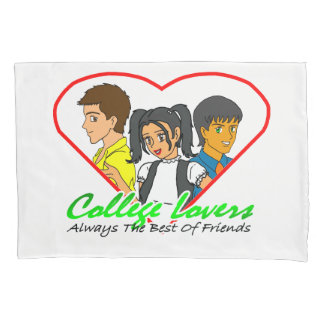 College Lovers Pillowcase