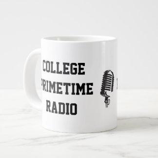 College Primetime Radio Jumbo Mug