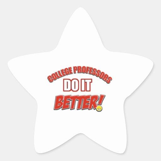 College Professors designs Stickers