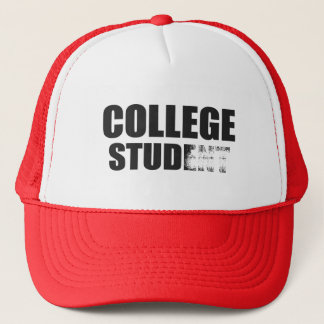 College Stud Trucker Hat