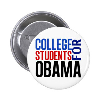 College Students for Obama 6 Cm Round Badge