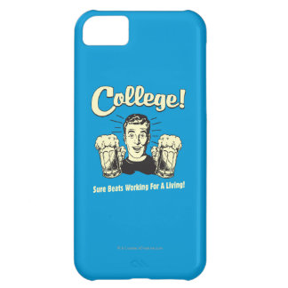 College: Sure Beats Working Living iPhone 5C Cover